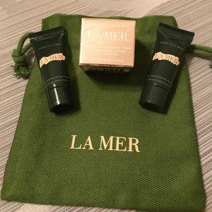 New La Mer Genaissance Eye Cream + Regenerating Sm